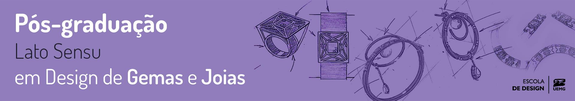 Curso de Especialização Design em Gemas e Joias