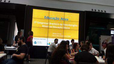 Equipe de professores da Escola de Design participa da mobilização para o  1o Congresso Brasileiro de Metodologias Ativas na Educação Básica