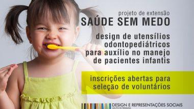 Projeto de Extensão da Escola de Design Saúde sem Medo busca voluntários