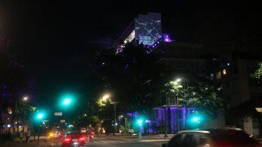 Presépio e Show de Luzes instaladas no prédio da Escola de Design complementam atrações natalinas do Circuito Liberdade
