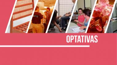 Optativas 2021 – Amanhã dia 13/04  matrícula para todos os cursos