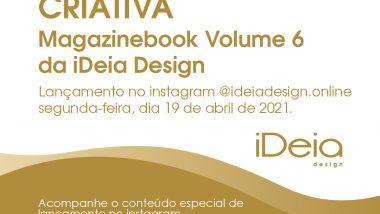 Minas Criativa é o tema do 6º volume da revista iDeia Design