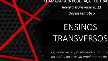 Revista Transverso lança chamada para dossiê temático na edição de número 11